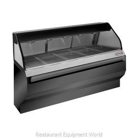 Alto-Shaam ED2SYS-72/PR-BLK Display Case, Heated Deli, Floor Model