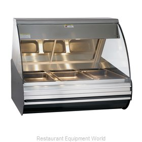 Alto-Shaam HN2-48/P-SS Display Case, Heated Deli, Countertop