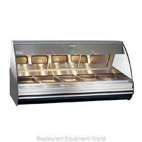 Alto-Shaam HN2-72/PR-BLK Display Case, Heated Deli, Countertop