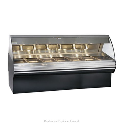 Alto-Shaam HN2SYS-96-BLK Display Case Heated Deli Floor Model