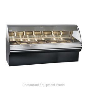 Alto-Shaam HN2SYS-96/PL-BLK Display Case, Heated Deli, Floor Model