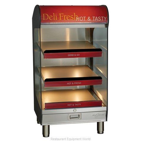 Alto-Shaam HSM-24/3S-CT Display Case, Hot Food, Countertop