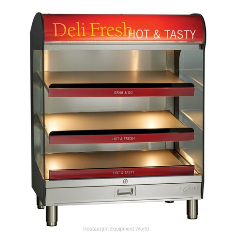 Alto-Shaam HSM-36/3S-CT Display Case, Hot Food, Countertop