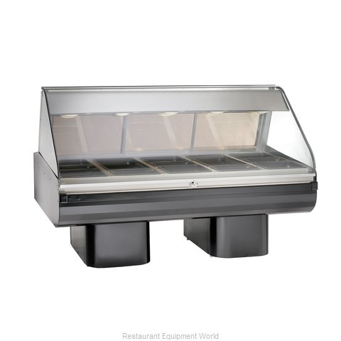 Alto-Shaam PD2SYS-72/PR-BLK Display Case, Heated Deli, Floor Model (Magnified)
