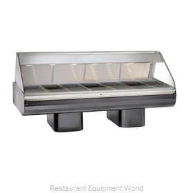 Alto-Shaam PD2SYS-96/PL-BLK Display Case Heated Deli Floor Model