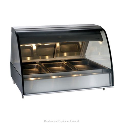 Alto-Shaam TY2-48-C Display Case Heated Deli Countertop