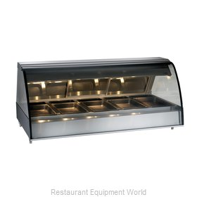 Alto-Shaam TY2-72/P-BLK Display Case, Heated Deli, Countertop