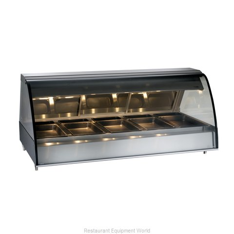 Alto-Shaam TY2-72/PL-BLK Display Case Heated Deli Countertop
