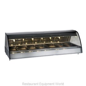 Alto-Shaam TY2-96-C Display Case, Heated Deli, Countertop