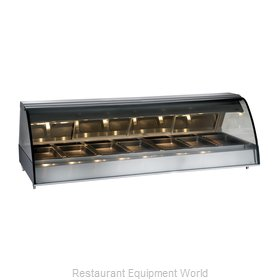 Alto-Shaam TY2-96/PL-BLK Display Case, Heated Deli, Countertop