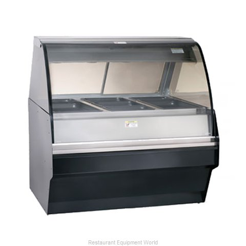 Alto-Shaam TY2SYS-48/P-C Display Case Heated Deli Floor Model