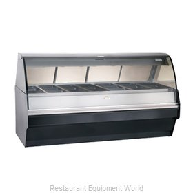 Alto-Shaam TY2SYS-96-C Display Case, Heated Deli, Floor Model