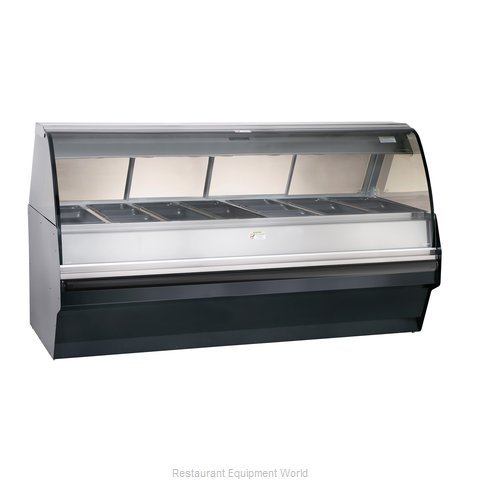 Alto-Shaam TY2SYS-96/PL-BLK Display Case Heated Deli Floor Model