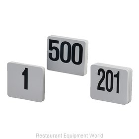 American Metalcraft 450 Table Numbers Cards