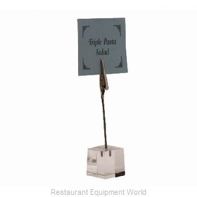 American Metalcraft ACH1 Menu Card Holder / Number Stand