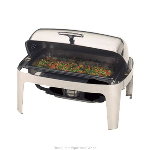 American Metalcraft ADAGIORT26 Roll Top Chafer (Magnified)