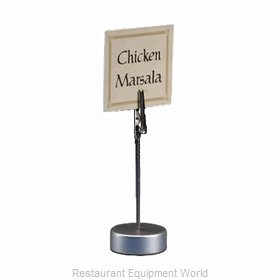 American Metalcraft ALMH4 Menu Card Holder / Number Stand