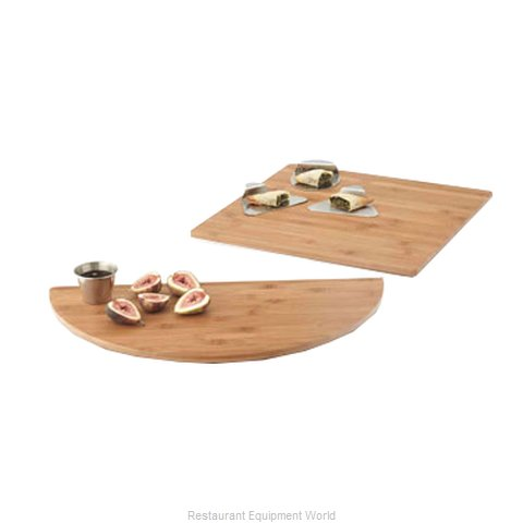 American Metalcraft BAM141 Platter Wood (Magnified)
