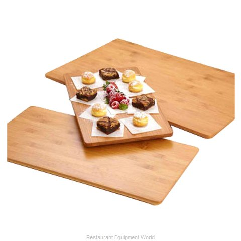 American Metalcraft BAM189 Platter Wood (Magnified)
