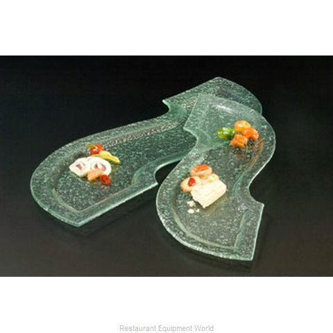 American Metalcraft BG3111 Platter Glass (Magnified)
