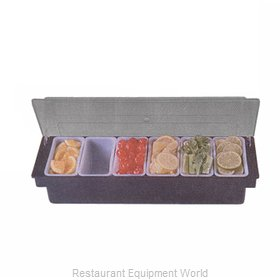 American Metalcraft BPCD6 Bar Condiment Server Countertop