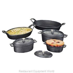 American Metalcraft CIPOV6040 Cast Iron Baking Dish