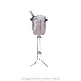 American Metalcraft CS31 Wine Bucket / Cooler, Stand