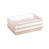 Bandeja para Fermentar Masa de Pizza <br><span class=fgrey12>(American Metalcraft DBP1826 Dough Proofing Retarding Pans / Boxes)</span>