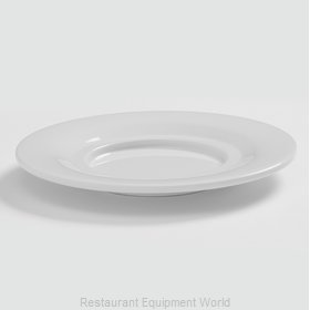 American Metalcraft DS5WH Saucer, Plastic