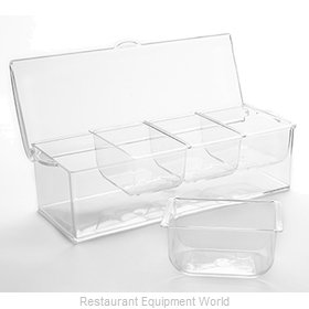 American Metalcraft FCS16 Bar Condiment Server, Countertop