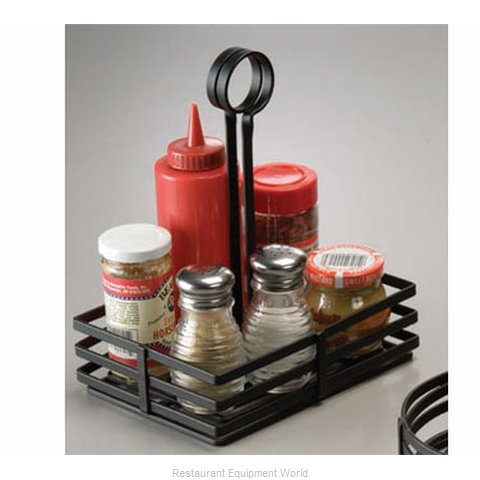 American Metalcraft FWC68 Condiment Caddy, Rack Only