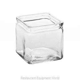 American Metalcraft GJ24 Storage Jar / Ingredient Canister, Glass