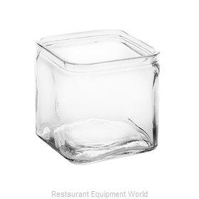 American Metalcraft GJ40 Storage Jar / Ingredient Canister, Glass