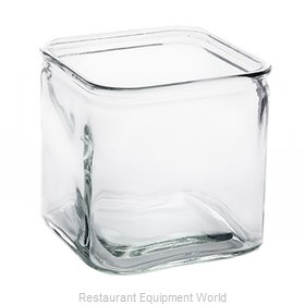 American Metalcraft GJ72 Storage Jar / Ingredient Canister, Glass