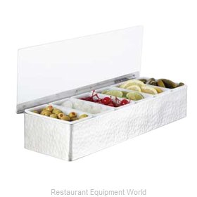 American Metalcraft HMCD6 Bar Condiment Server, Countertop