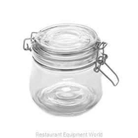 American Metalcraft HMJ4 Storage Jar / Ingredient Canister, Glass