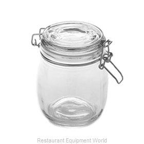 American Metalcraft HMJ5 Storage Jar / Ingredient Canister, Glass