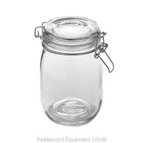 American Metalcraft HMJ6 Storage Jar / Ingredient Canister, Glass
