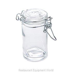 American Metalcraft HMMJ2 Storage Jar / Ingredient Canister, Glass