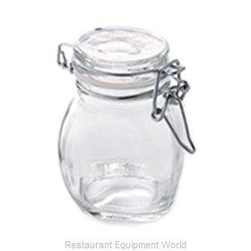 American Metalcraft HMMJ3 Storage Jar / Ingredient Canister, Glass