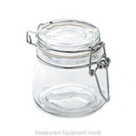 American Metalcraft HMMJ5 Storage Jar / Ingredient Canister, Glass