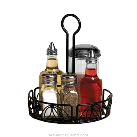 American Metalcraft LDCC17 Condiment Caddy, Rack Only