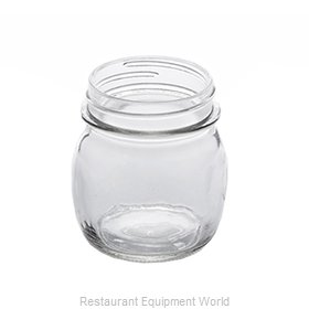 American Metalcraft MJ85 Glass, Mason Jar