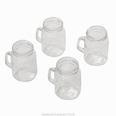 American Metalcraft MMJS Glass, Mason Jar