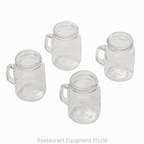 American Metalcraft MMJS Glass, Mason Jar