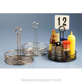 American Metalcraft RBNC26 Condiment Caddy, Rack Only