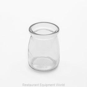 American Metalcraft RGJ4 Storage Jar / Ingredient Canister, Glass