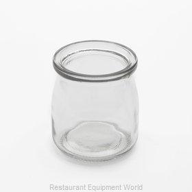 American Metalcraft RGJ6 Storage Jar / Ingredient Canister, Glass