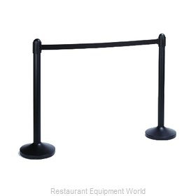 American Metalcraft RSBPBL Crowd Control Stanchion (Portable)