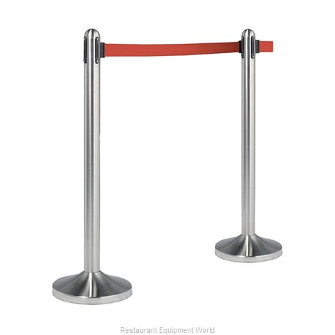 American Metalcraft RSRTRD Crowd Control Stanchion Portable